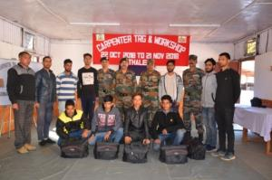 Army organises Carpenter Training and Workshop