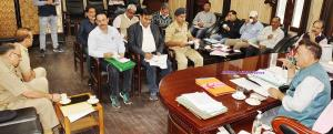 DDC Ramban reviews Darbar move arrangements