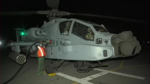 IAF carries out night time patrol in eastern Lada...