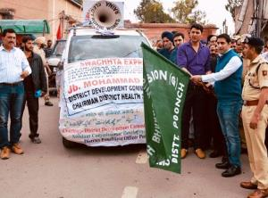 Swachhta Express launched in Poonch
