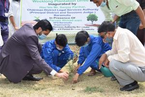 DLSA Baramulla launches Plantation Drive