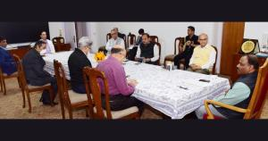 COVID-19: Lt Governor calls for doubling the effo...