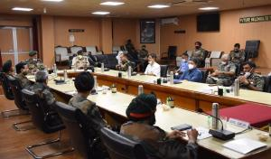Core Group reviews security situation in Kashmir
