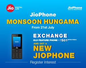JioPhone Monsoon Hungama offer starts July 21: He...